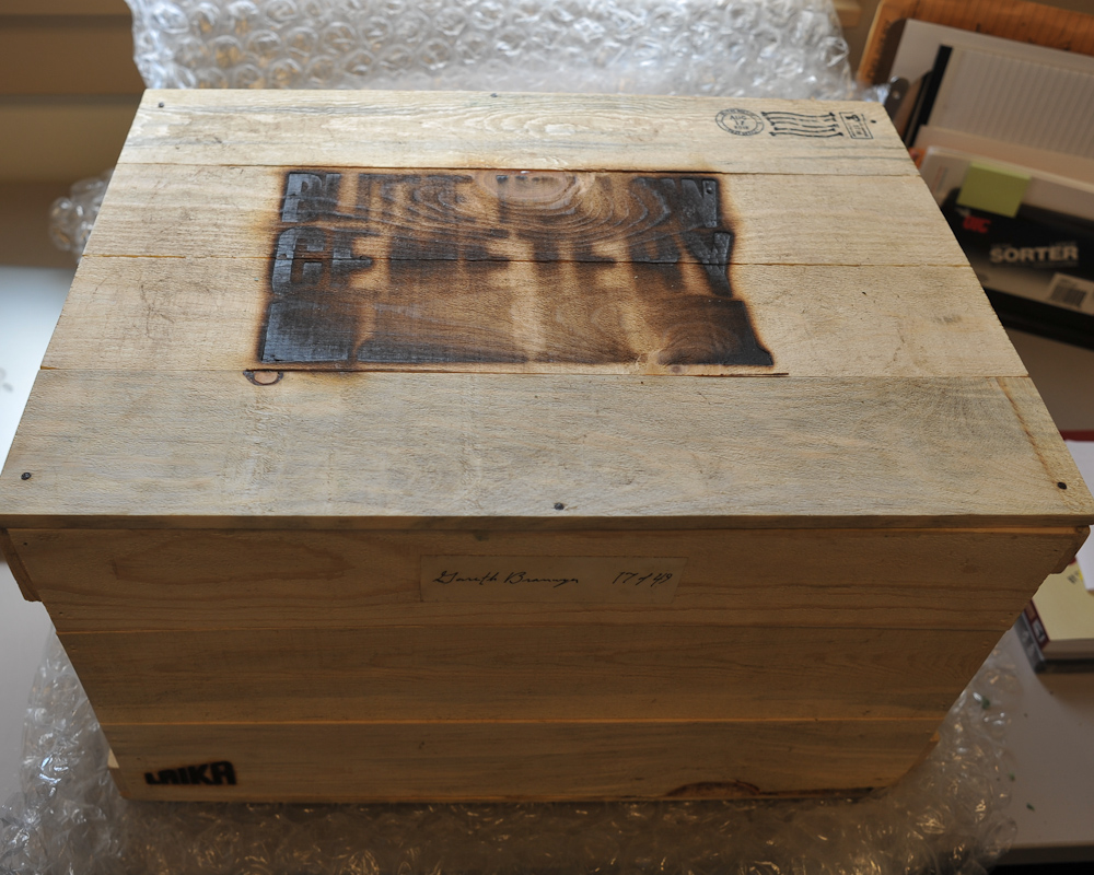 The Mystery and Joys of Strange Crates in the Mail