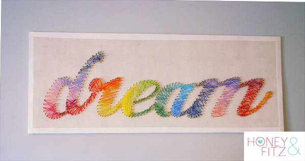 String Art Typography
