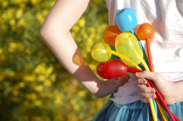 How-To: Balloon Tulip Flowers