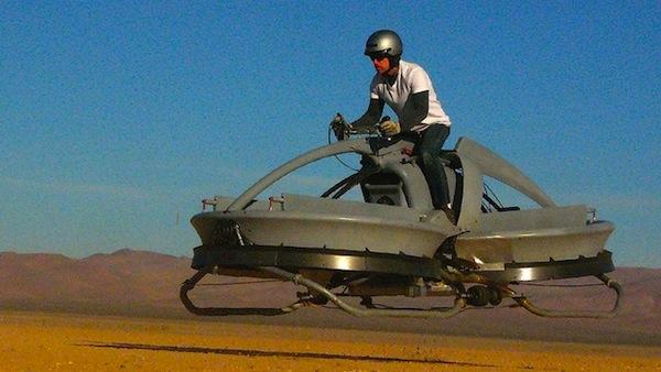 Aerofex Hoverbike on its Way to Star Wars Speeder Status