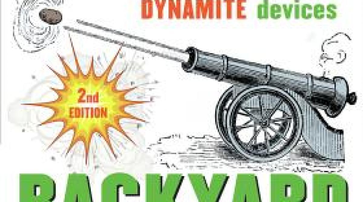 Backyard Ballistics Book make: talk 017 - backyard ballistics with william gurstelle | make: