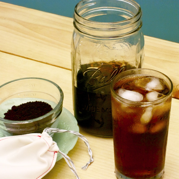 Project: Cold Brew Coffee with Reusable Coffee Bag