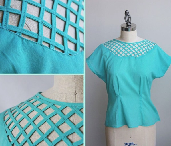 How-To: Basket Weave Fabric Inset