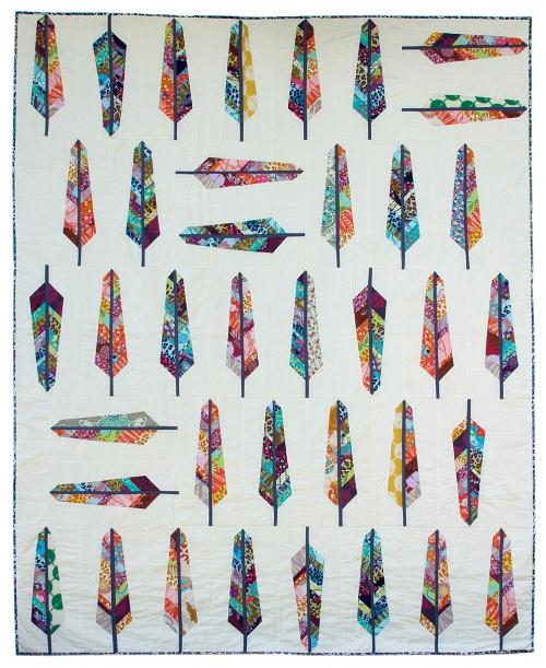 Feather Bed Quilt Pattern