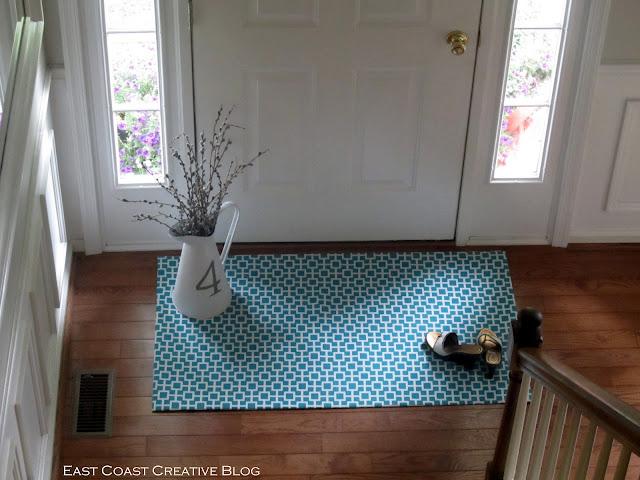 No-Sew Floor Cloth