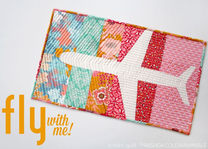 How-To: Airplane Mini Quilt
