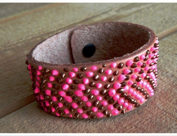 How-To: Faux Beaded Bracelet