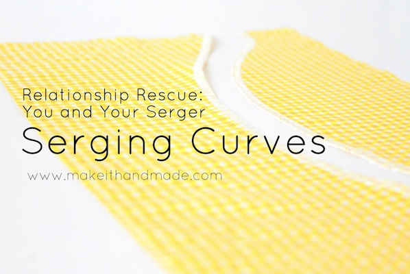 How-To: Serge Around Curves