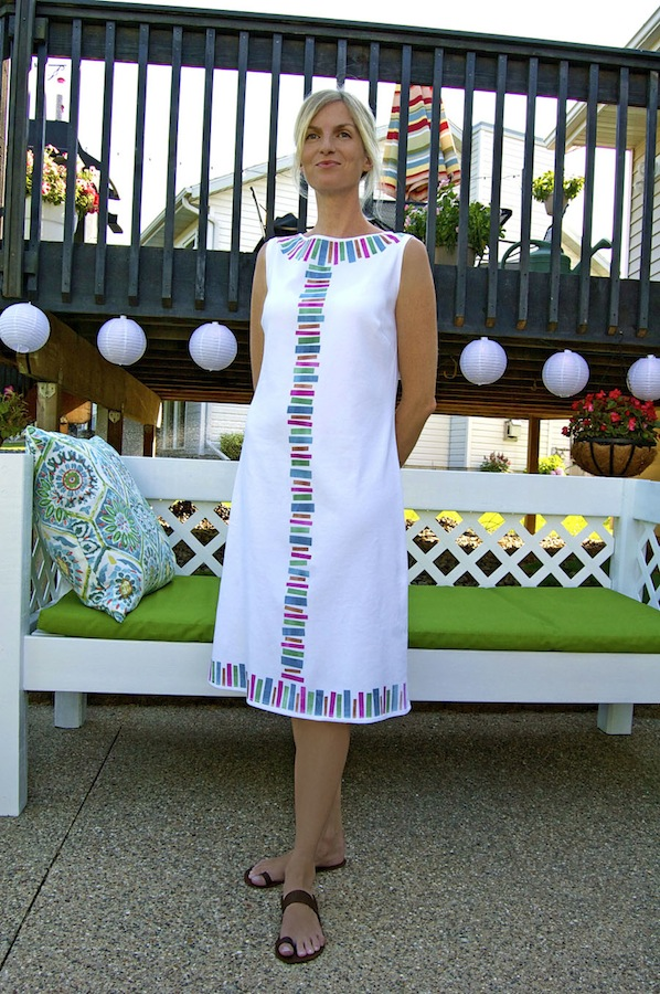 How-To: Ink Patterned Dress