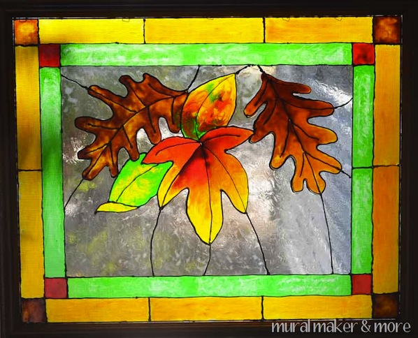 How-To: Faux Stained Glass Windows