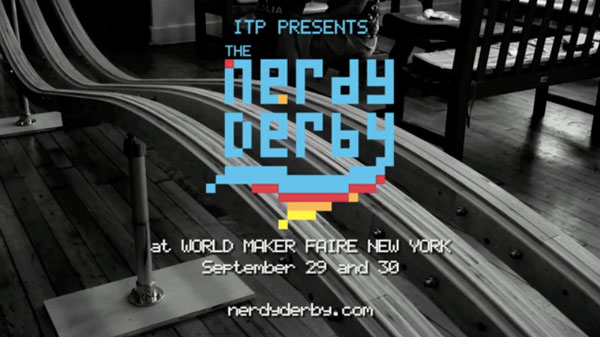 The Nerdy Derby at World Maker Faire New York