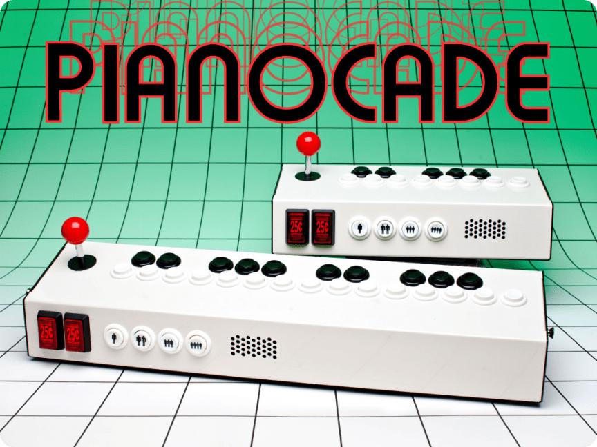 Pianocade Arcade-style Chiptunes Synthesizer