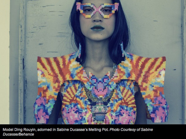 High-Fashion with Perler Beads
