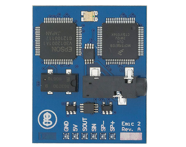 New in the Maker Shed: Parallax Emic 2 Text-to-Speech Module