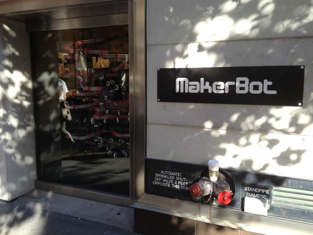 MakerBot's New Store in NYC