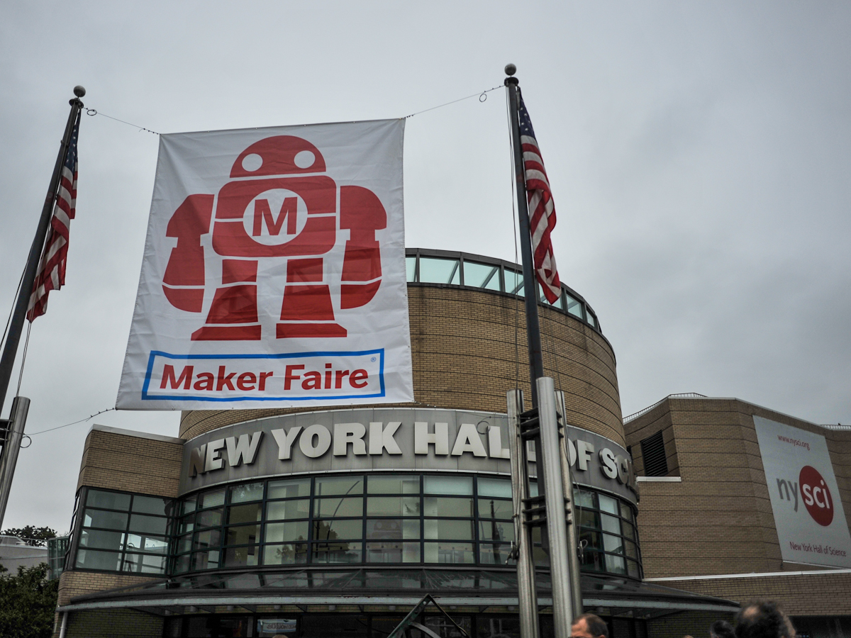 Maker Faire New York Begins!