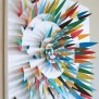 Paper Scrap Wall Art Make
