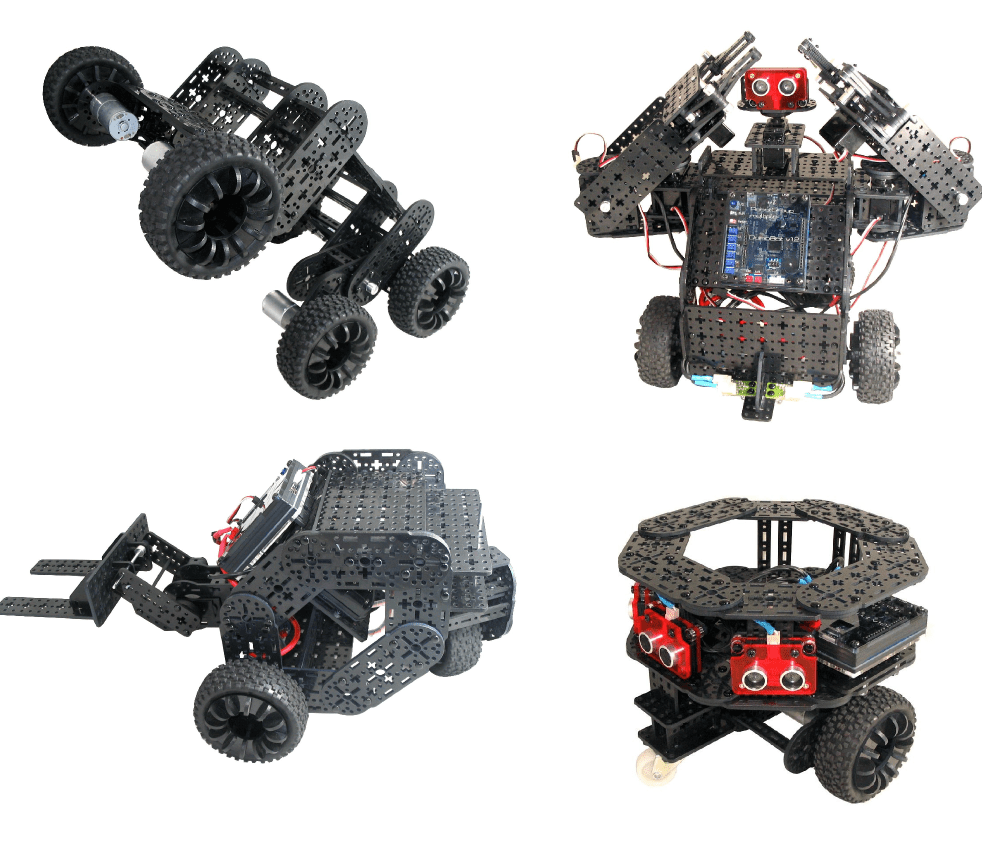 Multiplo, an Arduino-Controlled, Open-Source Robot Kit