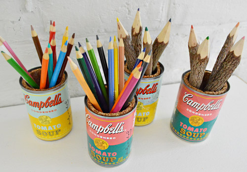 Andy Warhol Soup Can Organizers