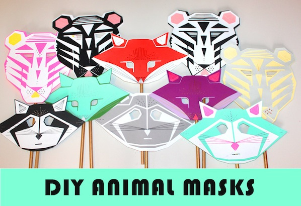 How-To: Modern Animal Masks