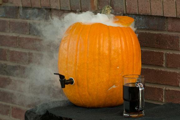 How-To: DIY Pumpkin Drink Dispenser