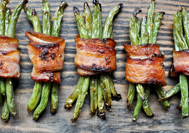 Recipe: Bacon-Wrapped French Beans