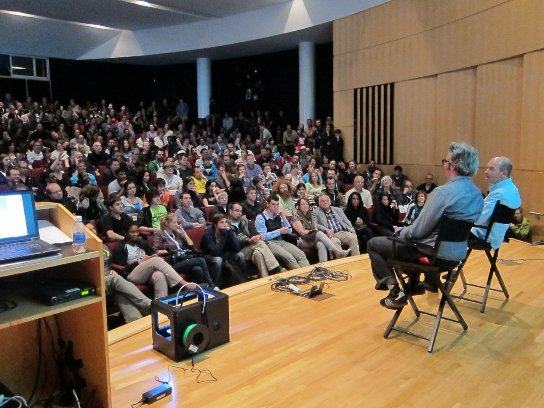 Maker Faire New York:  Moments from the Presentation Stages