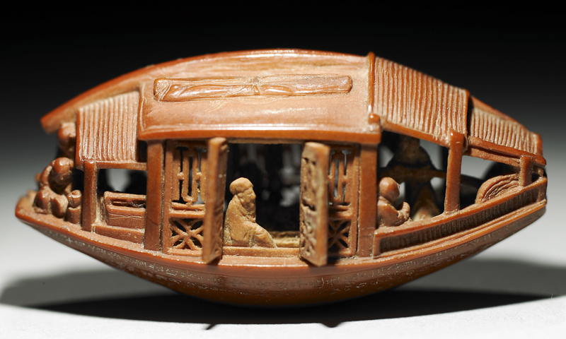Chinese Olive Pit Carving