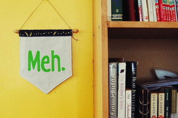 """How-To: """"Meh"""" Banner"""