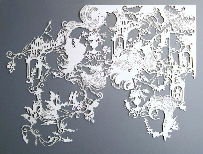 The Cut Paper Artworks of Emma van Leest