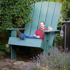 Huge Lawn Chair Blue Rum Build A Giant Adirondack Make Article Featured Image