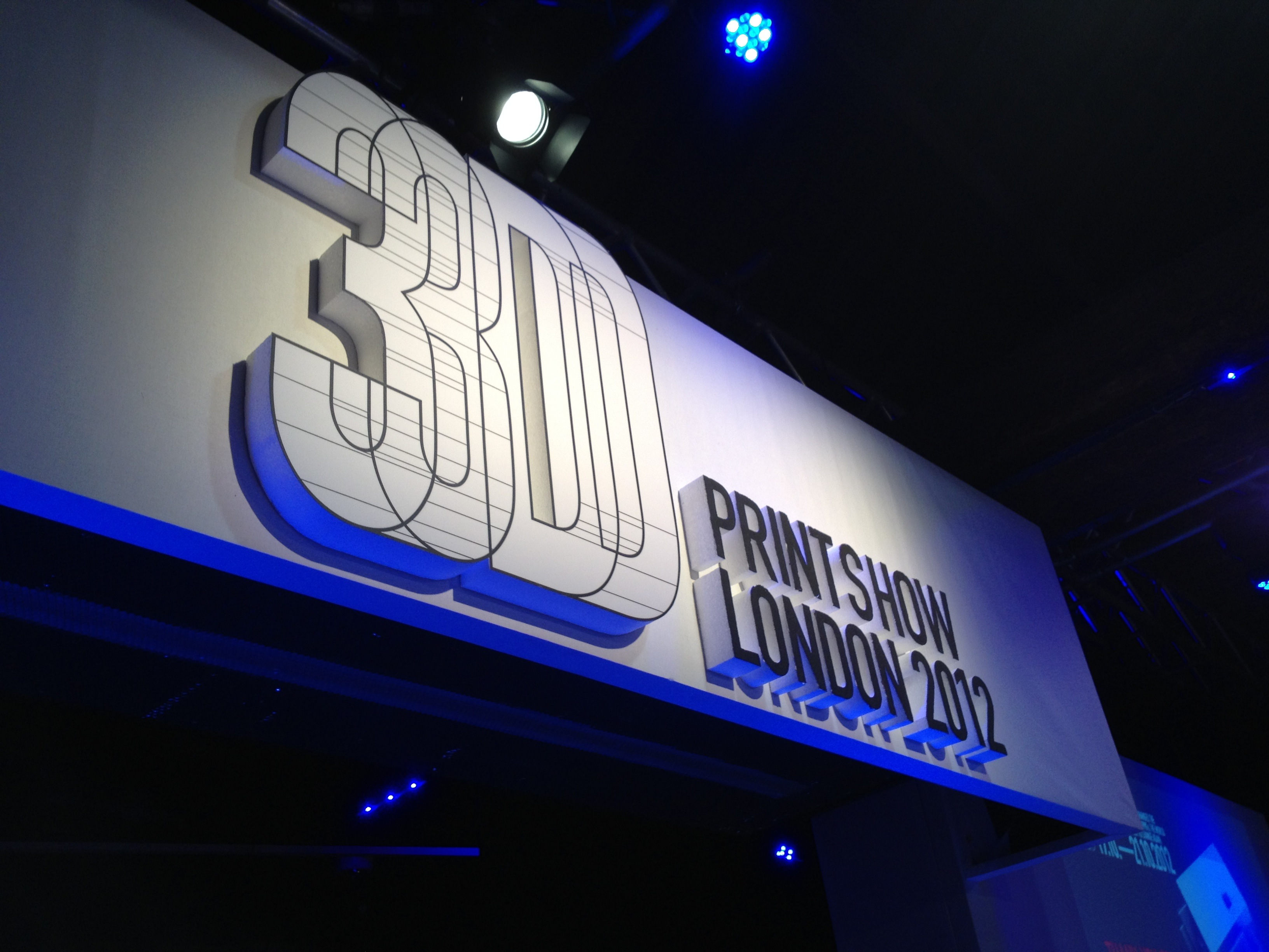Report: First Ever 3D Printshow London 2012
