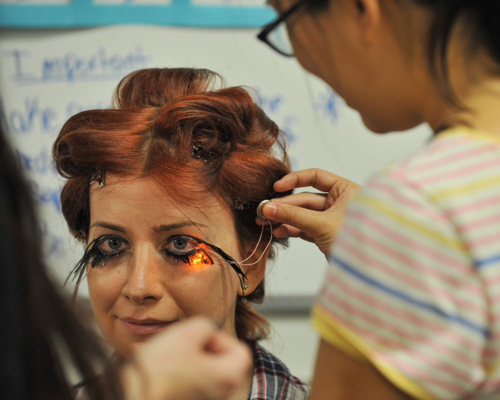 Very Special Effect Makeup at the 2012 Makey Awards