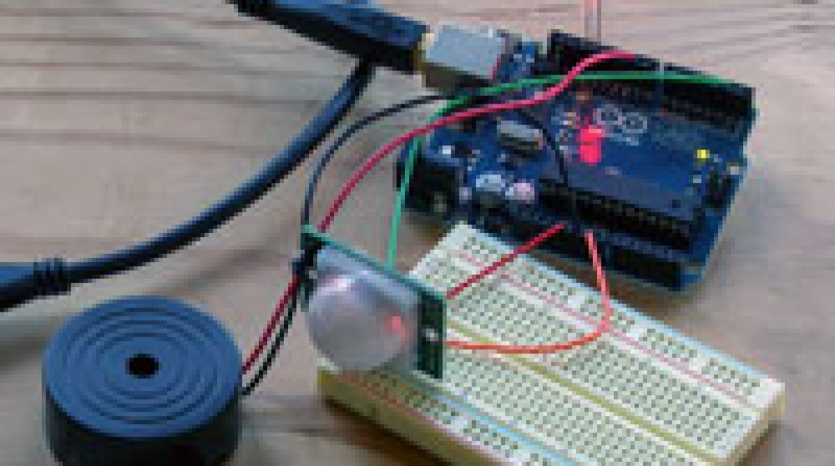 Build A Basic Infrared Motion Alarm With Weekend Projects Make Project Cell Phone Detector Circuit On Breadboard Youtube Article Featured Image