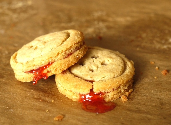Recipe: Jam-Filled Button Cookies
