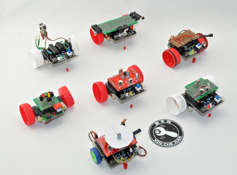 XinCheJian's  Swarm Robots