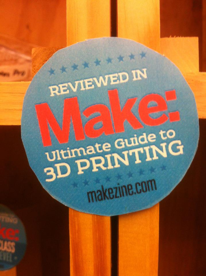 MAKE and 3D Printing