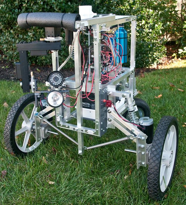 Steve Norris's PatrolBot Mark II
