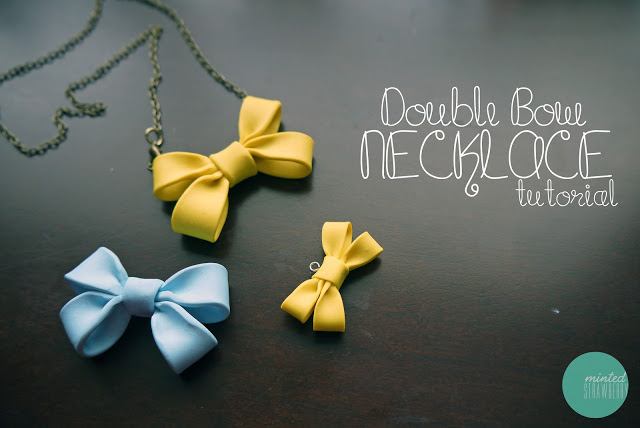 How-To: Double Bow Necklace