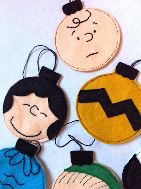 How-To: Charlie Brown Christmas Ornaments