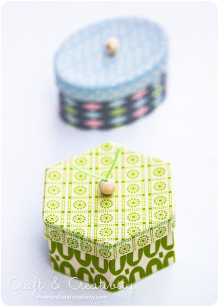 How-To: Decorative Washi Tape Boxes