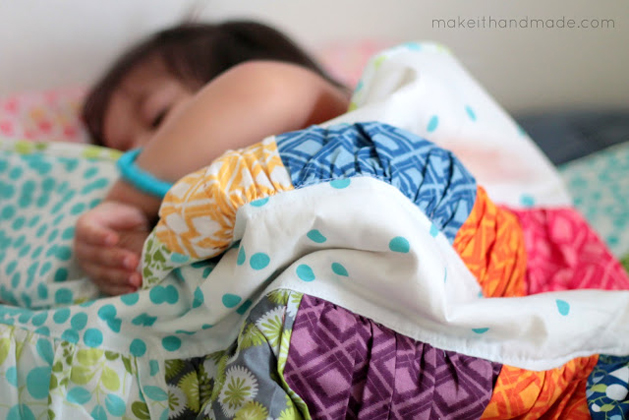 How-To: Crinkle Quilt Tutorial