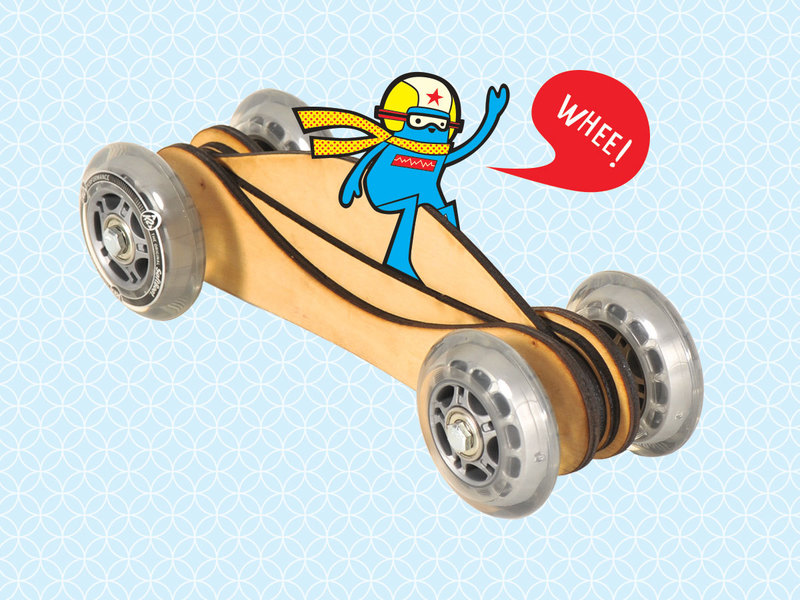How-To: Fast Toy Wood Car