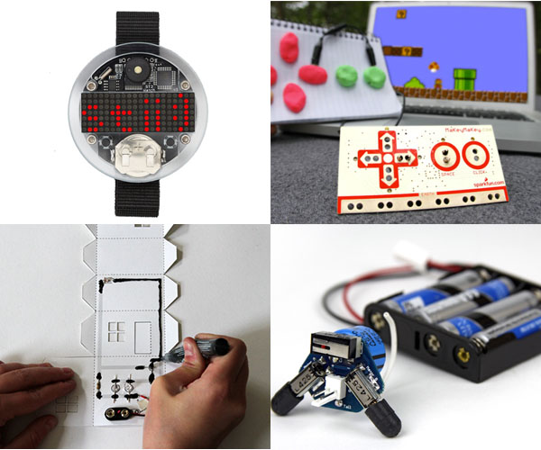 Holiday Gift Guide 2012: Electronic Gifts from the Maker Shed