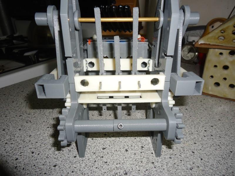 Printed 3-Bit Mechanical Punch Card Reader