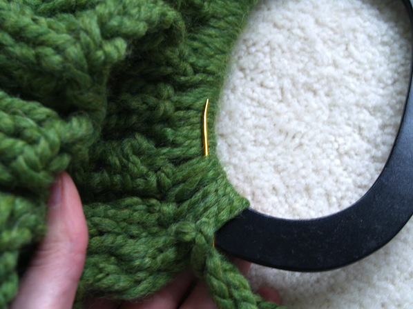 How-To: Seaming and Adding Handles to Knitting Projects