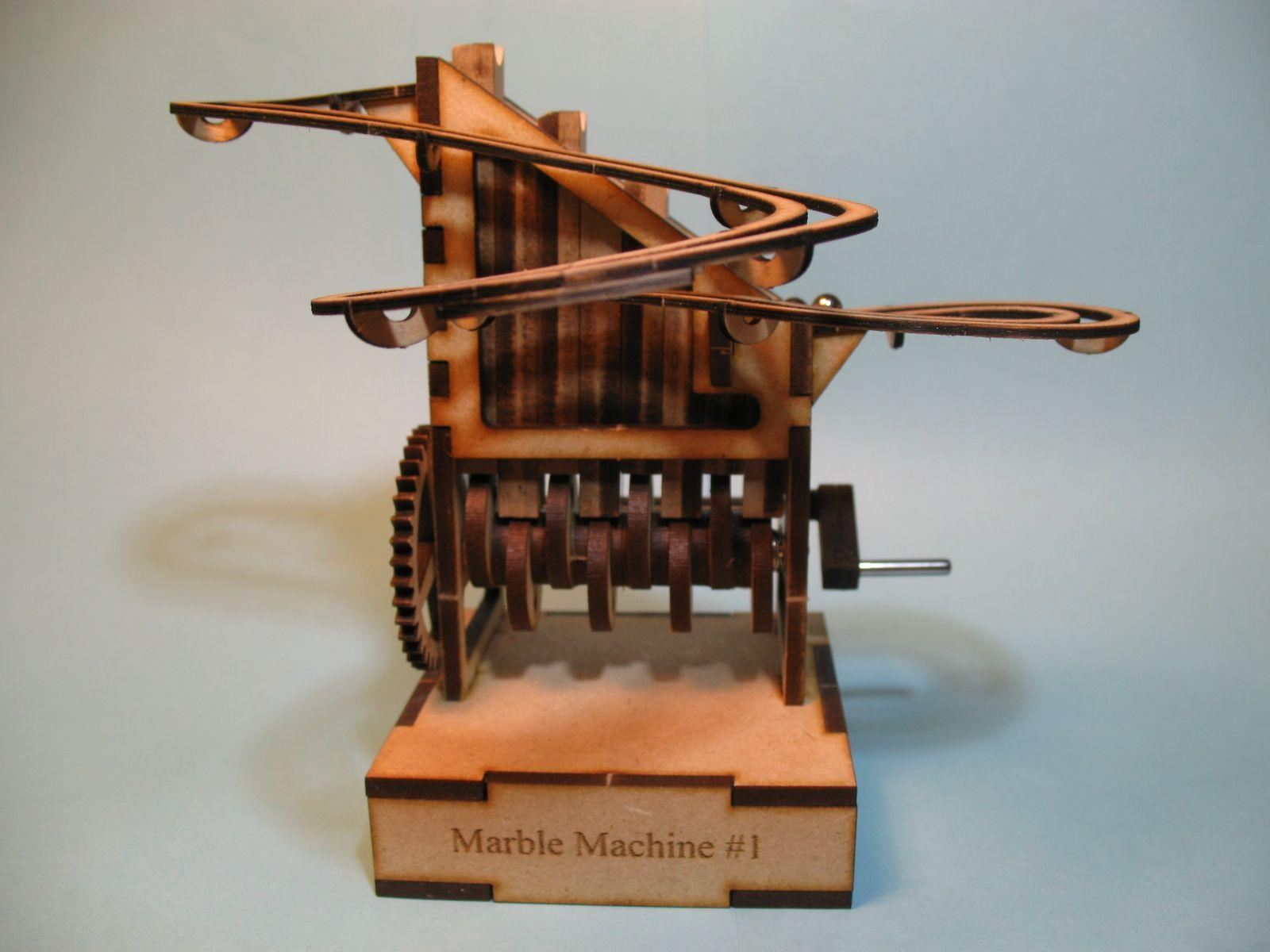Michael Henriksen's Hand-Cranked Marble Machine