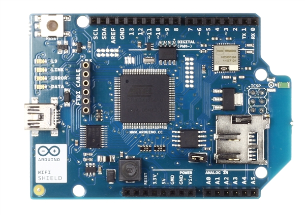 New in the Maker Shed: Arduino WiFi Shield