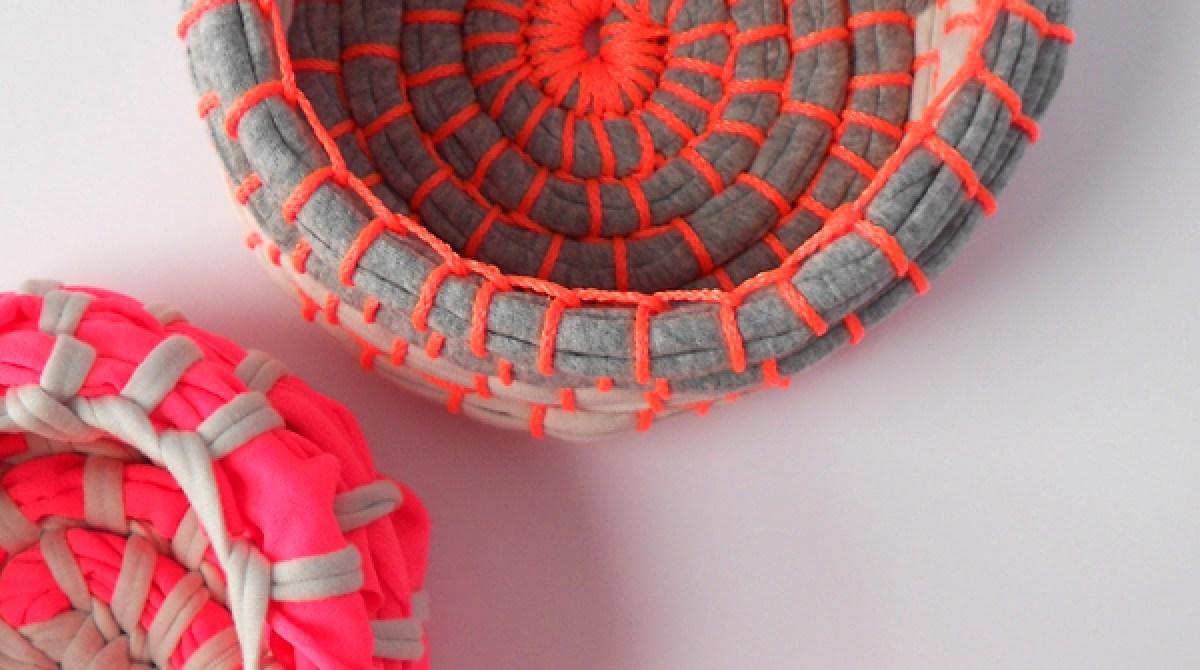 Neon Coil Baskets