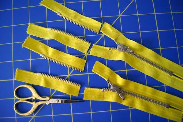 How-To: Shorten Metal Zippers